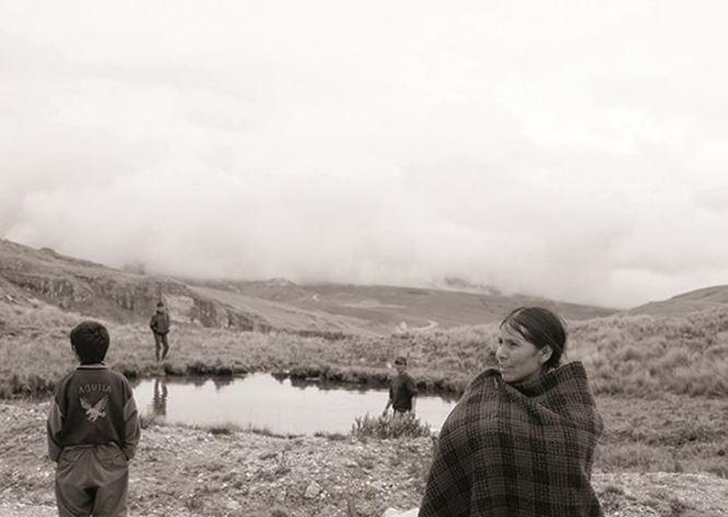 Máxima Acuña, ambientalista, defensora no Peru. Foto: Antonio Sorrentino