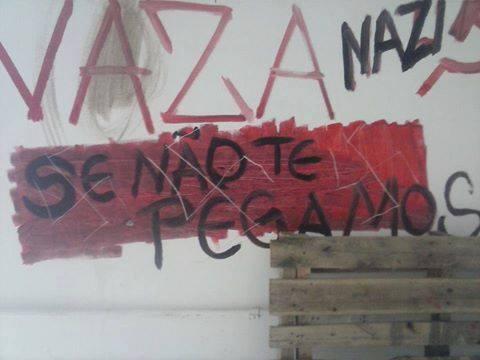 "Ataque nazista à ""Sala Quilombo"" na Universidade Federal de Santa Catarina"