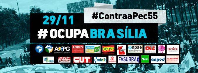Ocupa Brasília – 29/11