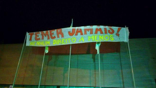 Sol e sombras no Itacorubi: Desocupação repressiva na UDESC