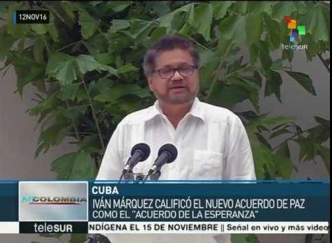 Governo colombiano e FARC fecham novo acordo de paz