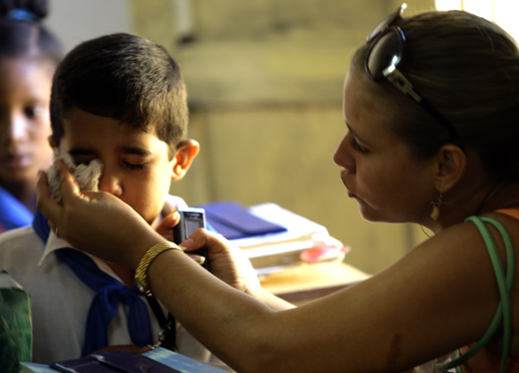 Cuba afirma ser o país com mais professores per capita no mundo. Foto: Ismael Francisco/Cubadebate.