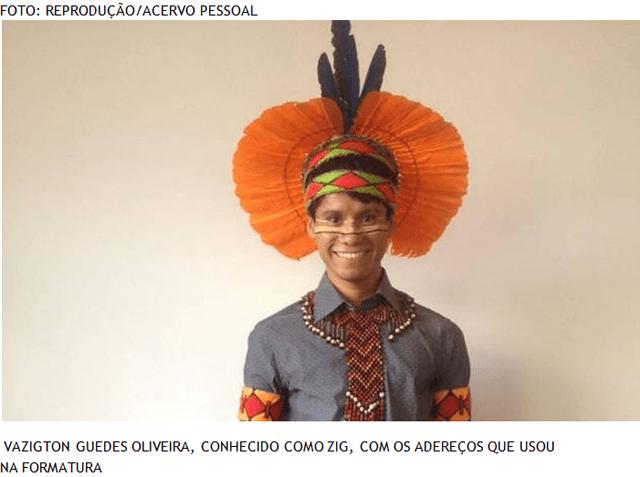 'Quero socializar ao máximo o meu conhecimento', diz indígena formado em medicina