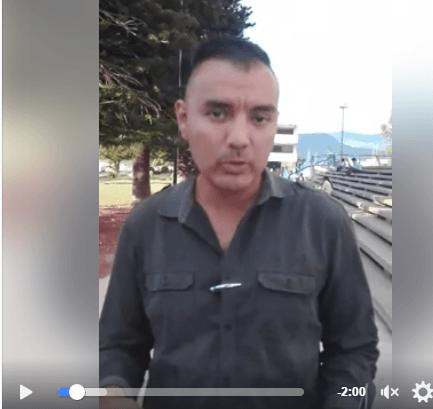 Comitê pela Livre Expressão de Honduras alerta por agressões a jornalistas Ronnie Huete Salgado e Evelyn Molina