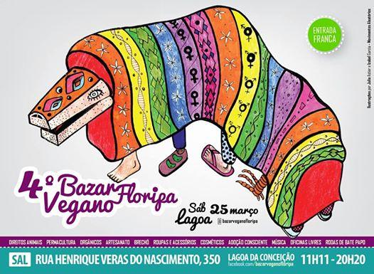 4º Bazar Vegano Floripa
