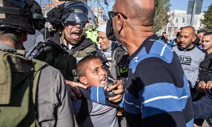 O drama das crianças palestinas presas pelo governo israelense
