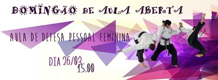 Aulão gratuito: Defesa Pessoal das Minas