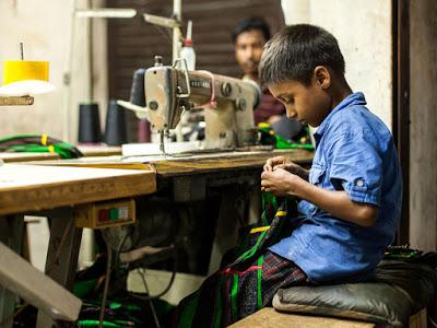 Trabalho infantil: Crianças do Bangladesh trabalham 64 h/semana para fazer a nossa roupa barata