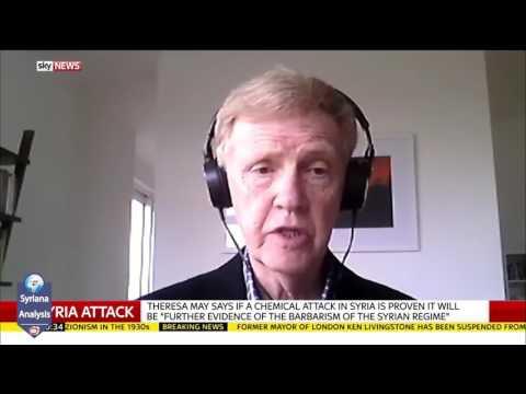 Ex-embaixador do Reino Unido na Síria: Improvável que Assad e a Rússia sejam os autores dos ataques químicos