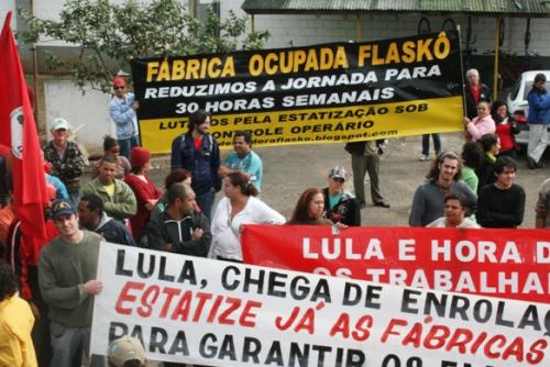 Fábrica sob gestão dos trabalhadores tem energia cortada desde 30 de março