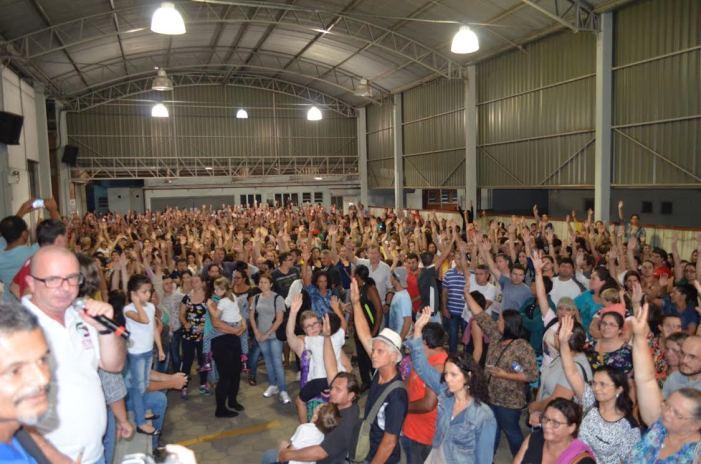 Suspensão temporária da greve em Jaraguá do Sul