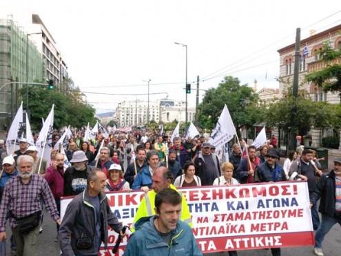 Grécia em greve contra o novo pacote de austeridade