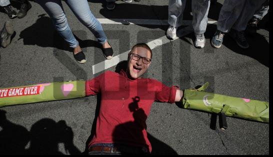 Bruxelas, 25 de maio. Foto: Aris Oikonomou / SOOC