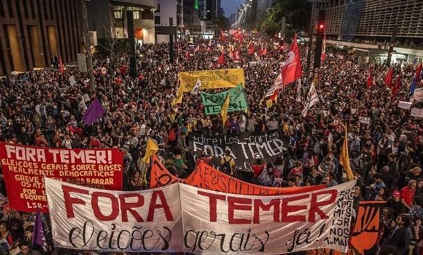 17 capitais terão atos contra Temer e por eleições diretas neste domingo