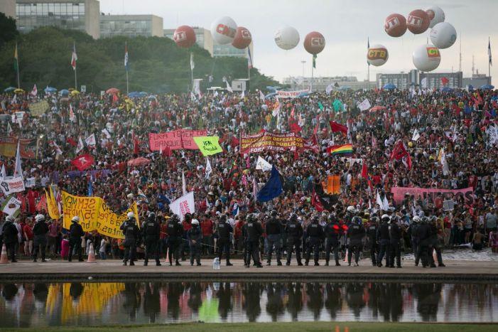 Marcha promete parar Brasília