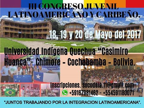 III Congresso Jovem Latino-americano e Caribenho