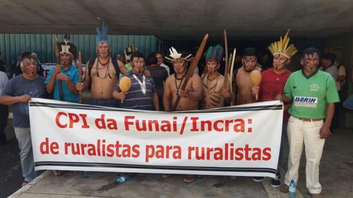 Povos indígenas em Brasília hoje