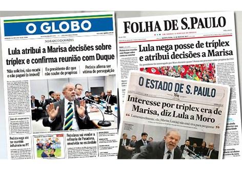 """Sem provas, mídia constrói nova narrativa contra Lula: """"CulpouMarisa"""""""