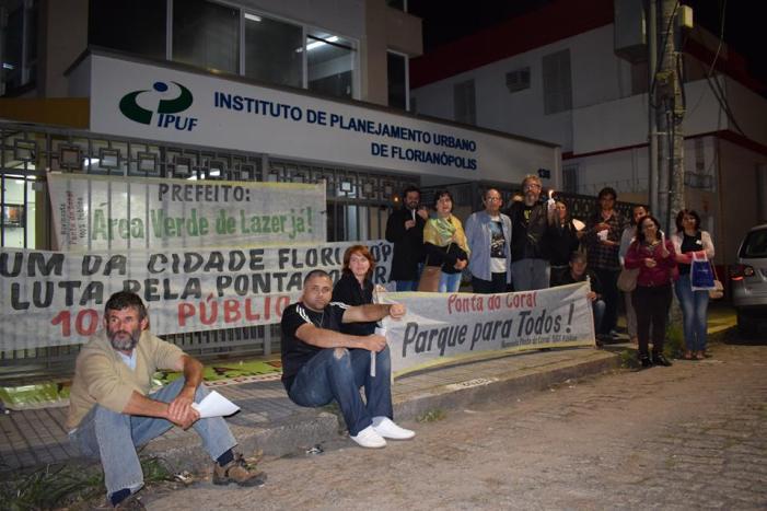 Ato: Luto pelo Plano Diretor de Florianópolis