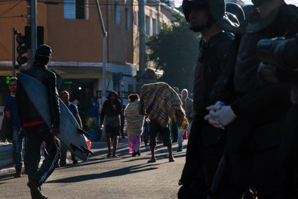 Maioria dos moradores da Cracolândia são negros (Foto: Daniel Arroyo/Ponte Jornalismo)