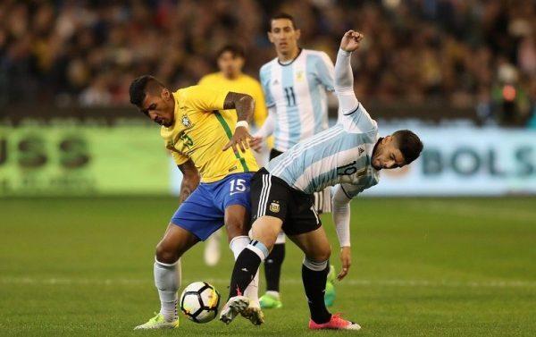Em um clássico movimentado, a transmissão de Brasil x Argentina foi um dos principais assuntos das redes sociais (Foto: Divulgação/CBF)