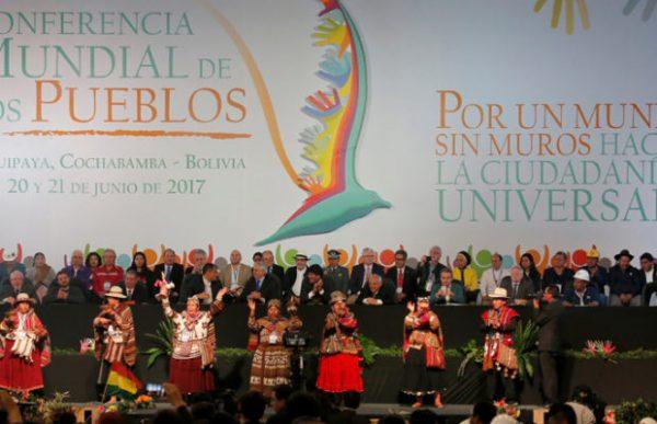 Bolívia: Fotos da abertura da Conferência Mundial dos Povos
