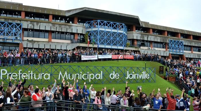 Greve dos servidores de Joinville começa segunda (12)