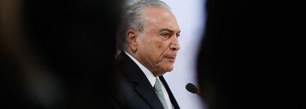 Brasil começa a se livrar de Temer nesta terça-feira