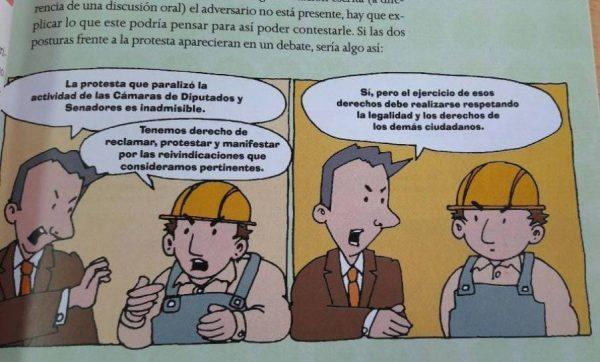 Governo argentino distribui livros didáticos que 'ensinam' a não fazer greve