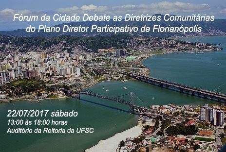 Fórum Da Cidade debate diretrizes e conflitos do Plano Diretor