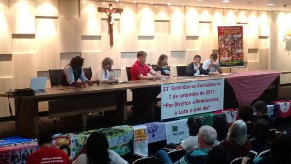 Organizações populares e religiosas lançam Grito dos Excluídos no DF