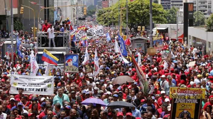 Declaração pública de solidariedade e apoio à Assembleia Constituinte na Venezuela