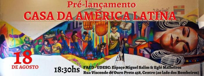 Casa da América Latina em Florianópolis