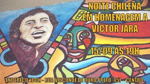 Noite Chilena em homenagem a Víctor Jara
