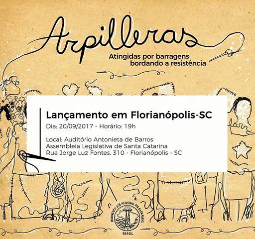 Arpilleras, o Filme – Lançamento em Florianópolis