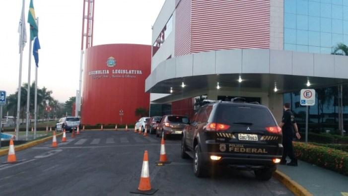 Assembleia Legislativa do Mato Grosso é alvo de busca e apreensão em operação da Polícia Federal