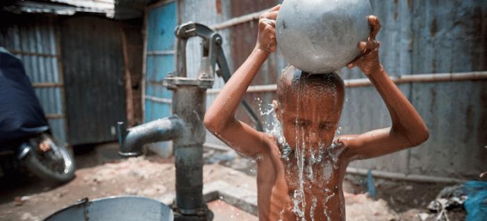 60% da População Mundial (4,5 bilhões de pessoas), não tem um Saneamento Seguro