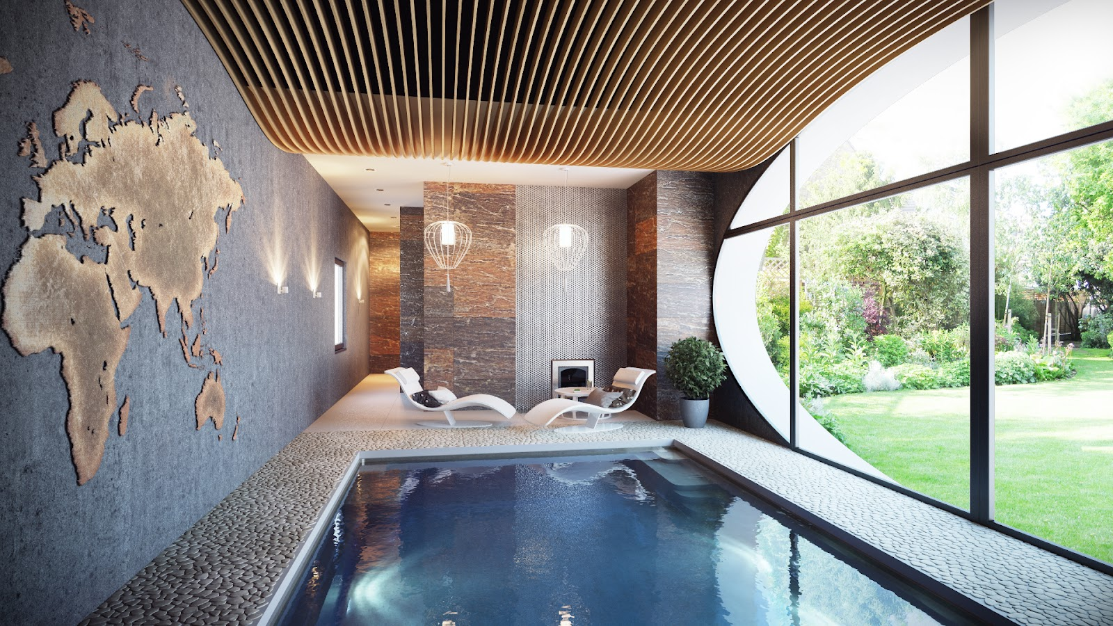 Deco Pool House Best Inspiring Indoor Swimming Pool Design Ideas Desainideas
