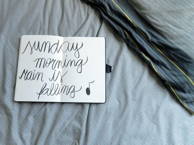 DIário #74 - O amor é a manhã de domingo