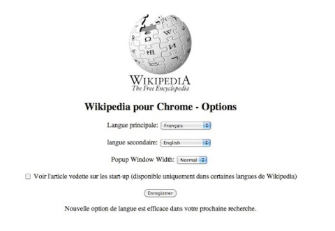 wikipedia compagnon Wikipedia Companion intgre Wikipdia  Google Chrome