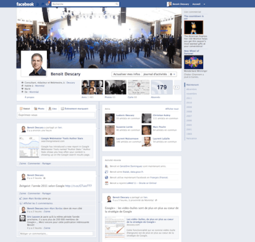 benoit descary facebook Facebook: le nouveau profil Journal est disponible, activez le [Facebook Timeline]