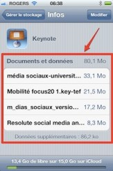 icloud documents donnes 1 iCloud iPhone   iPad: comment grer efficacement les 5 Gigas despace gratuit 