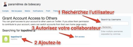 twitter collaborateurs Twitter: la gestion de comptes multiples arrive sur Twitter.com