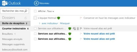 outlook com 1 Hotmail devient Outlook.com: comment créer vos alias Outlook