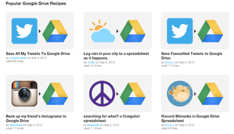 ifttt google drive IFTTT intgre Google Drive et du coup devient une solution Pro