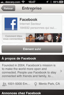 linkedin page societe entreprises Linkedin: mise à jour des applications iOS et Android