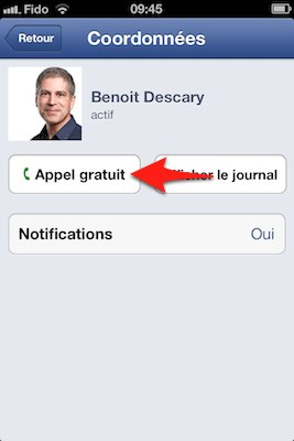 appel voip facebook messenger descary ios Comment passer un appel VOIP avec Facebook Messenger [iPhone]