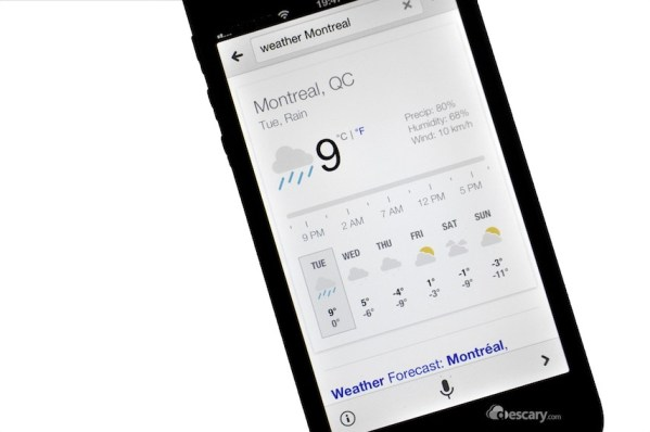 google now ios iphone ipad Google prparerait une version de Google Now pour iPhone et iPad 