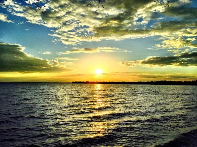iphone photo coucher de soleil