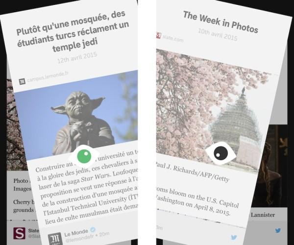 something pour iphone transforme twitter en magazine